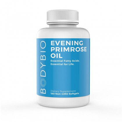 Evening Primrose Oil BodyBio 180 Kps