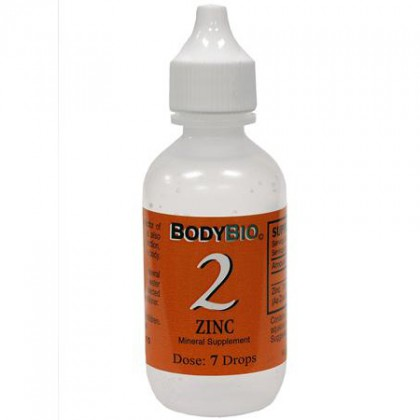 Liquid Mineral #2 Zinc BodyBio 60 ml Konz.