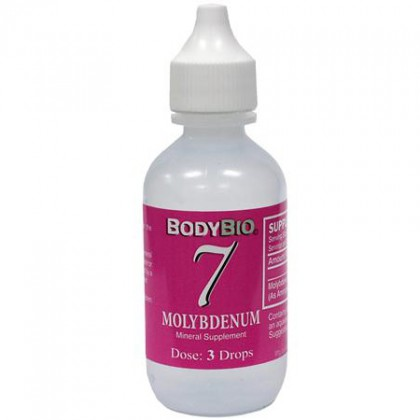 Liquid Mineral #7 Molybdenum BodyBio 60 ml Konz.