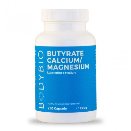 Butyrate (Calcium/Magnesium) BodyBio 250 Kps