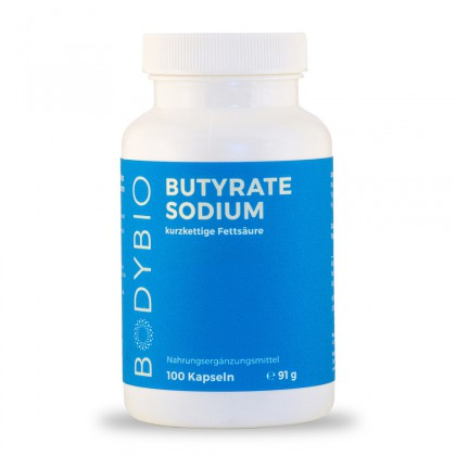 Butyrate (Sodium) BodyBio 100 Kps