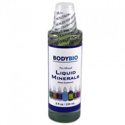Pre-Mixed Liquid Minerals BodyBio 236ml