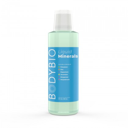 Liquid Minerals (Pre-Mixed) BodyBio  236ml