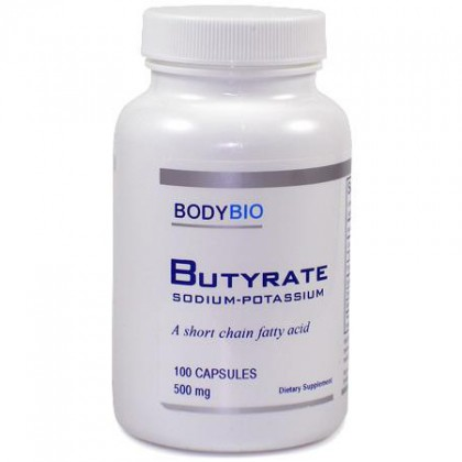 Butyrate (Sodium/Potassium) BodyBio 100 Kps