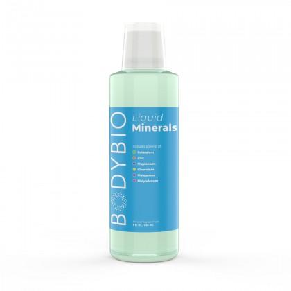 Liquid Minerals (Pre-Mixed) BodyBio  236ml