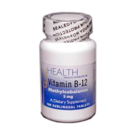 Vitamin B12 - Methylcobalamin 100 Tbl